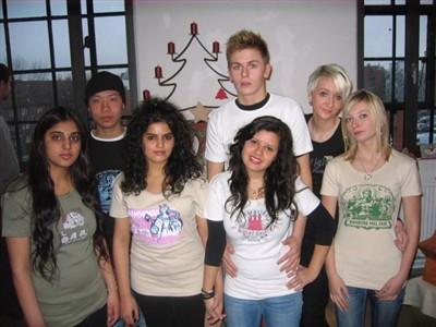 Unsere Models: Anna Diller, Sandeep Kaur, Katarzyna Latko, Tien Dung Nguyen, Igor Niedbala, Hajir Saeed und Arianna Saverio