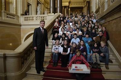 Fairtrade Botschafter mit Staatsrat Lüdemann