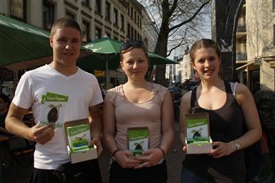 Fairchoc wirbt für Faire Ostern