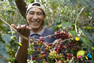 Kaffeebauer aus Peru
