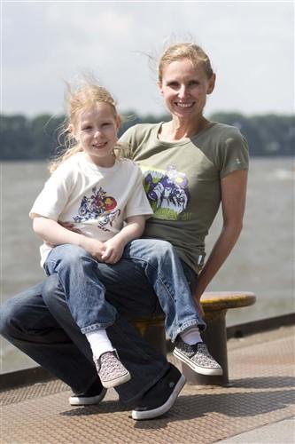 Andrea Steinbuss und Laura