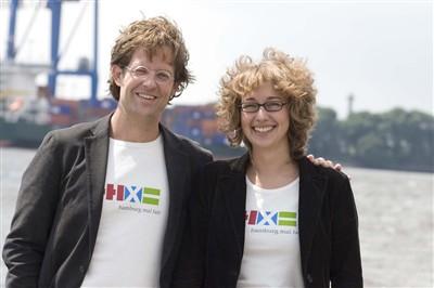 Stephan Engel und Nina Richter