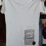 T-Shirt mit Gewinner-Motiv